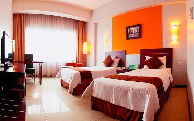 Aquarius Boutique Hotel Palangkaraya Palangka Raya - Deluxe Twin Bed