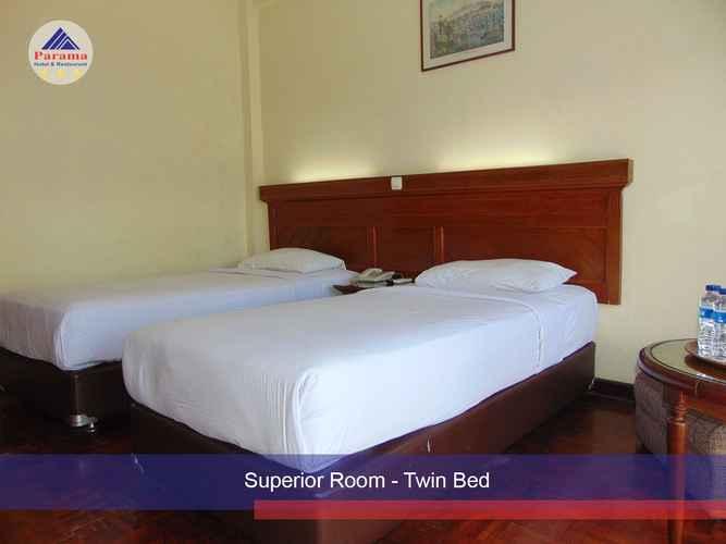 BEDROOM Parama Hotel Puncak
