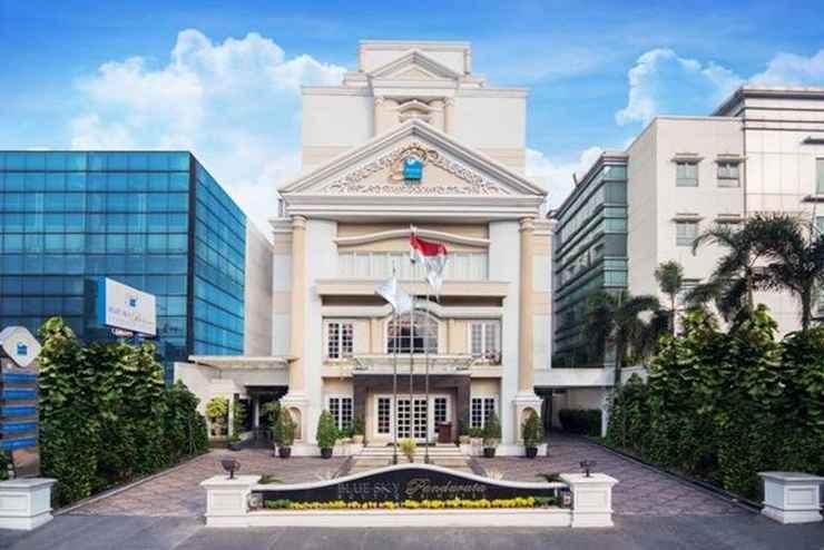 EXTERIOR_BUILDING Blue Sky Pandurata Hotel Cikini