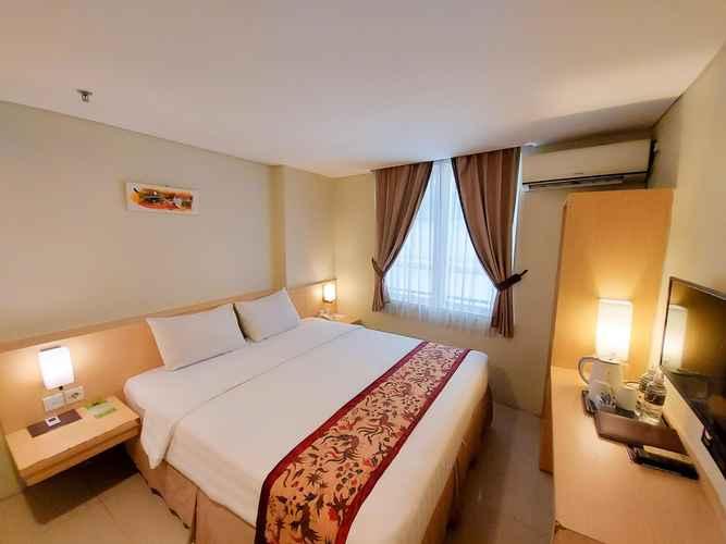 BEDROOM Bekizaar Hotel Surabaya