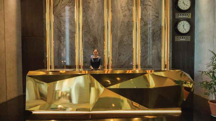 LOBBY Akmani Hotel Jakarta