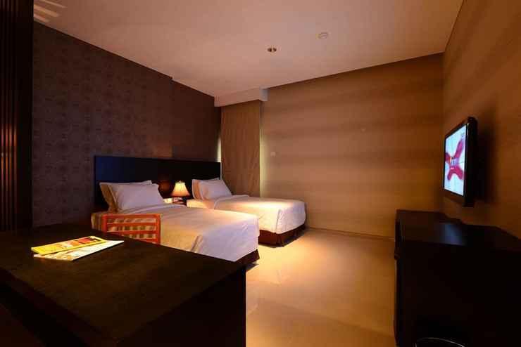 BEDROOM Emilia Hotel By Amazing - Palembang
