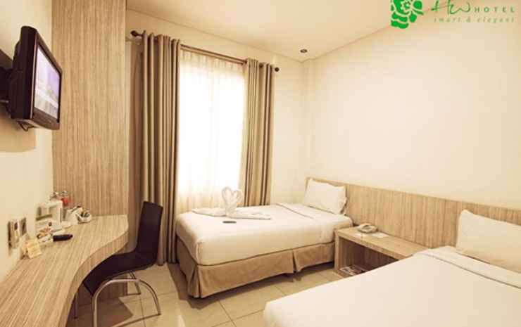 HW Hotel Padang Padang - Smart Room Twin Room Only ( Smoking Room )
