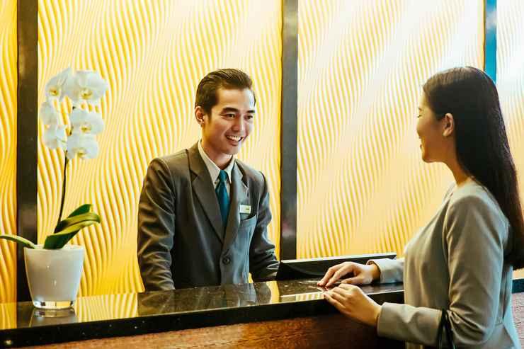 LOBBY Beston Hotel Palembang (FKA Horison Ultima Palembang)