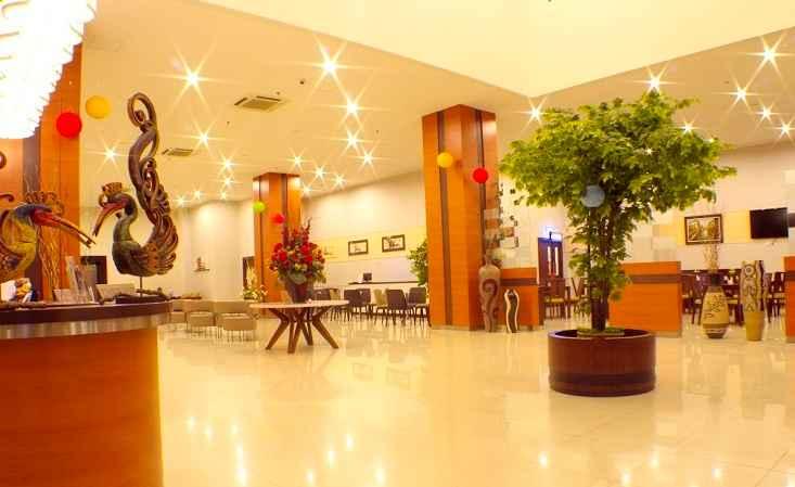 LOBBY Lampion Hotel Solo