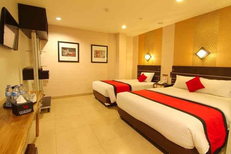 BEDROOM Citi M Hotel Tanah Abang Gambir