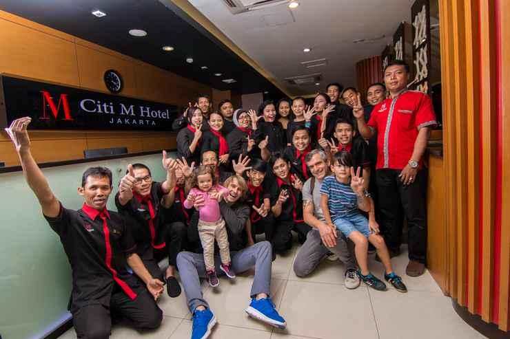 LOBBY Citi M Hotel Tanah Abang Gambir