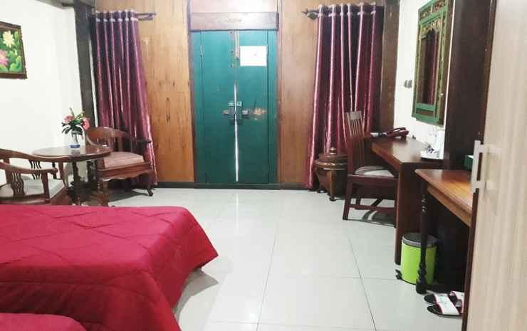 Taman Teratai Hotel Puncak - Etnic Room ( Lumbung Padi Bali ) garden view ( AC )