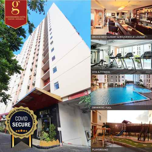EXTERIOR_BUILDING Gunawangsa Manyar Hotel Surabaya