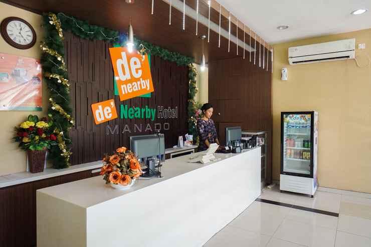 LOBBY De Nearby Hotel Manado