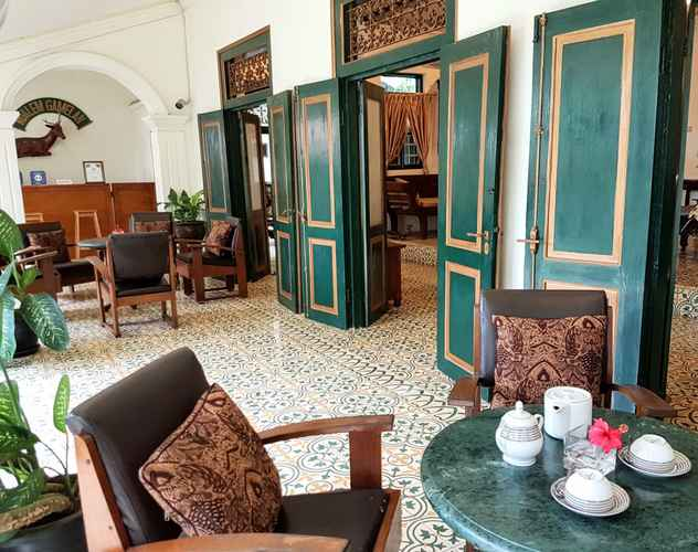 LOBBY Ndalem Gamelan Guesthouse
