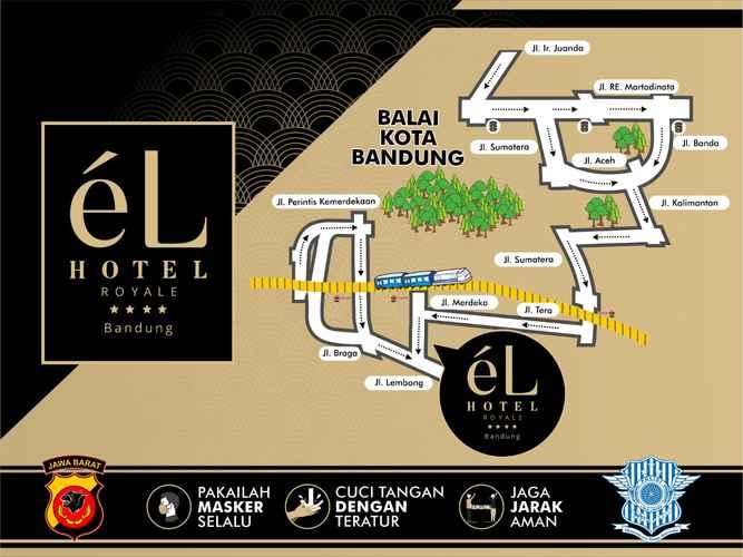 BEDROOM eL Hotel Royale Bandung