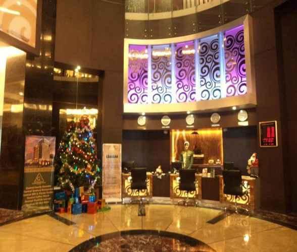 LOBBY Grand Central Hotel Pekanbaru