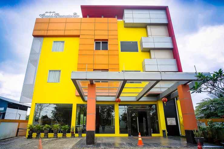 EXTERIOR_BUILDING Grand Permata In Hotel