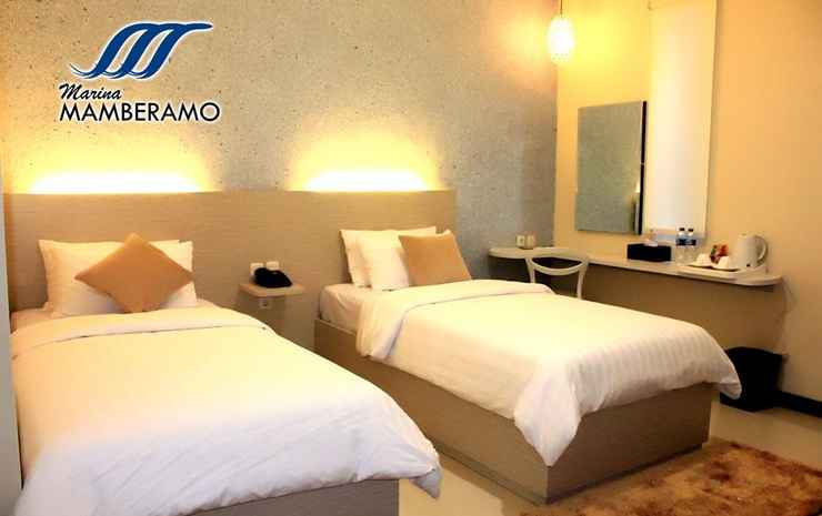 Marina Mamberamo Hotel Sorong - Deluxe Twin