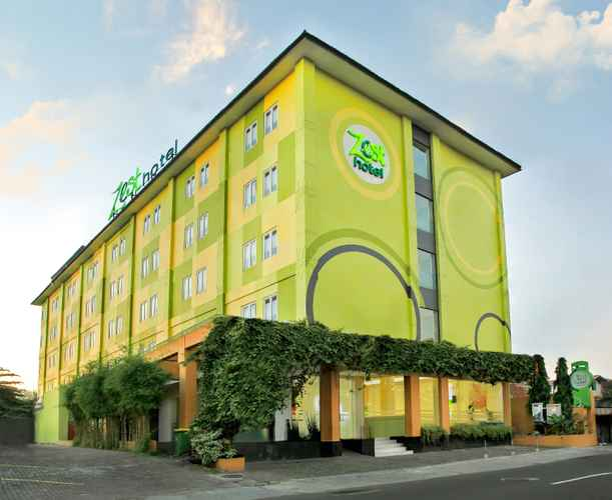 EXTERIOR_BUILDING Zest Hotel Yogyakarta