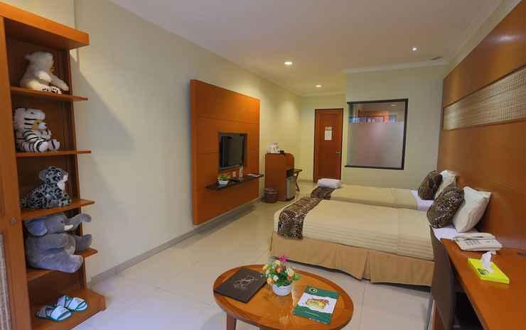 Taman Safari Lodge Puncak - Deluxe Twin Bed