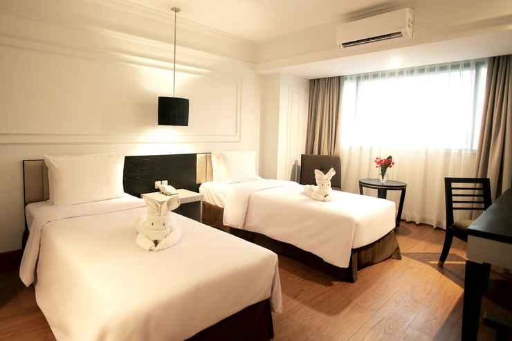BEDROOM Grand Mahkota Hotel