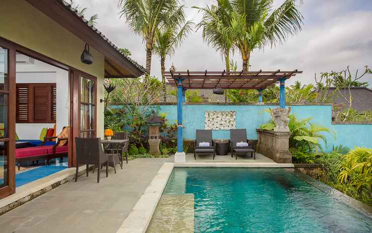 Dwaraka The Royal Villas Bali - 1 Bedroom Pool Villa Rice Field View