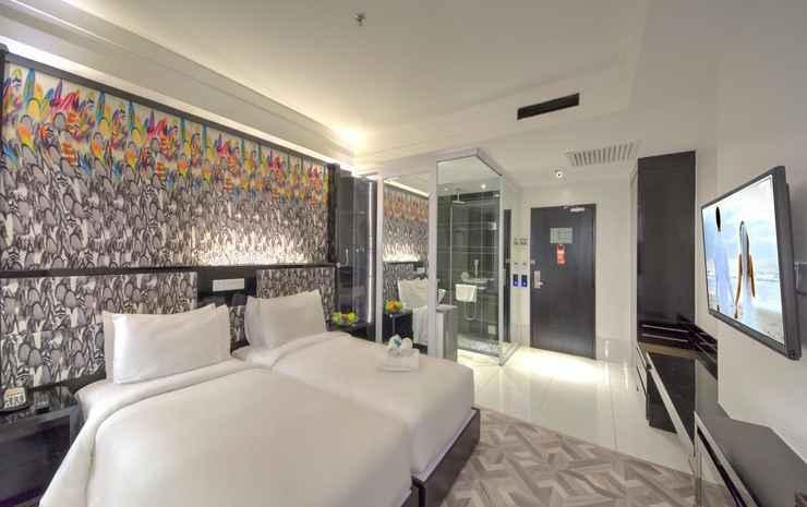 Arenaa Star Hotel Kuala Lumpur - Annexe Deluxe Twin