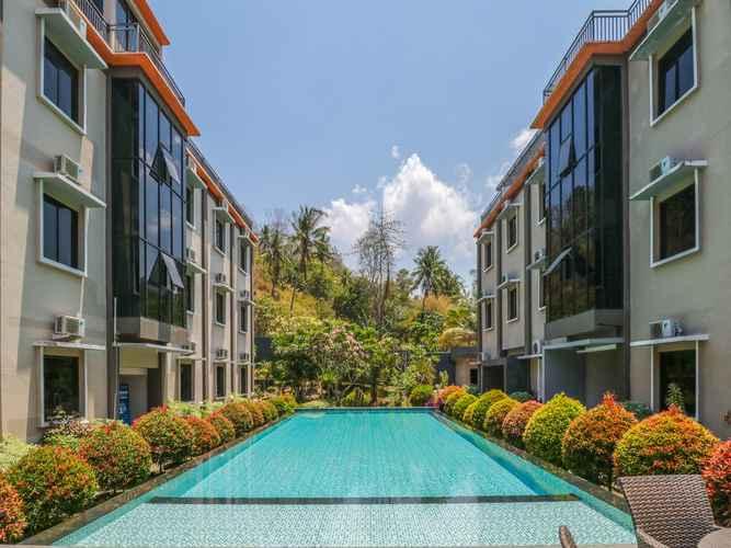 SWIMMING_POOL OYO 1655 Grand Senggigi Hotel