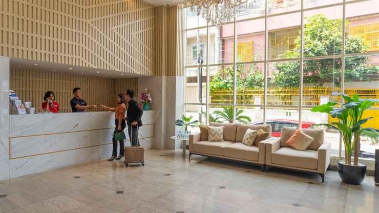 LOBBY d'primahotel Pattimura Makassar