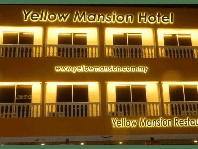EXTERIOR_BUILDING Yellow Mansion Hotel Melaka Raya