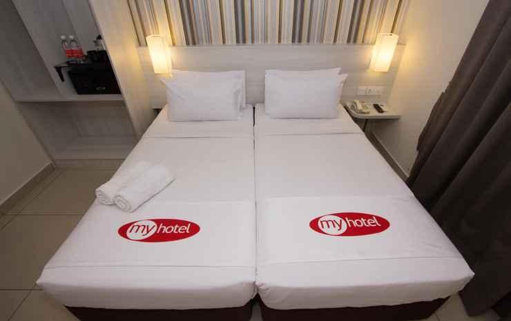 My Hotel @ Sentral Kuala Lumpur - Kamar Twin