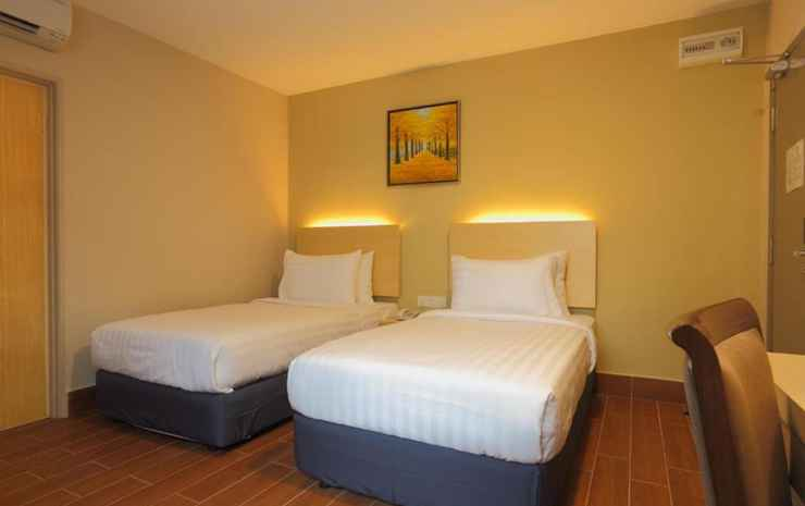 Metro Hotel KL Sentral Kuala Lumpur - Standard Twin Room (No Window) - Breakfast included