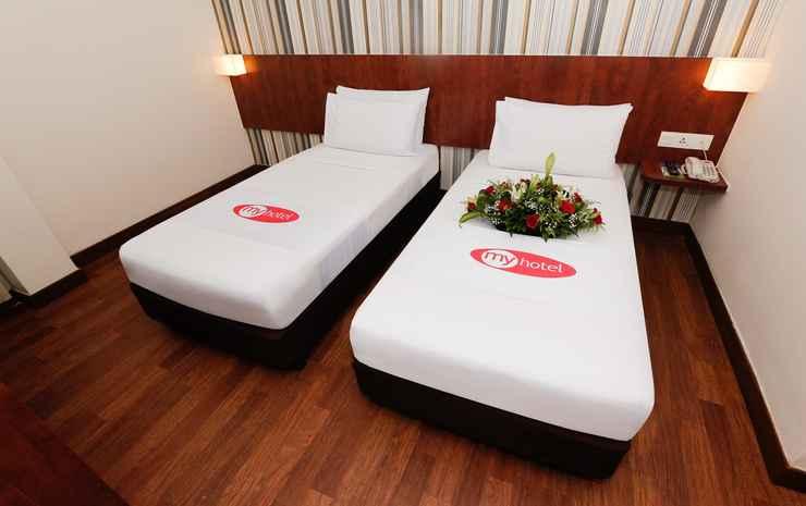My Hotel @ KL Sentral Kuala Lumpur - Deluxe Twin
