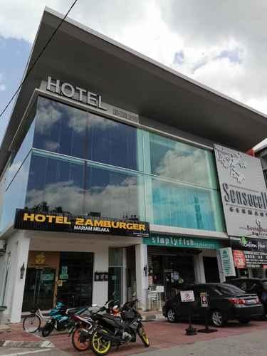 EXTERIOR_BUILDING Hotel Zamburger Mariam Melaka