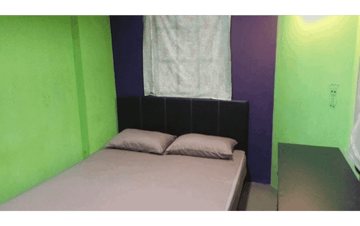 Oasis Guesthouse Kuala Lumpur - Standard Double Room with Private Bathroom (Fan)