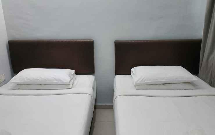 Hotel Al Jafs Bukit Bintang Kuala Lumpur - Deluxe Twin Room