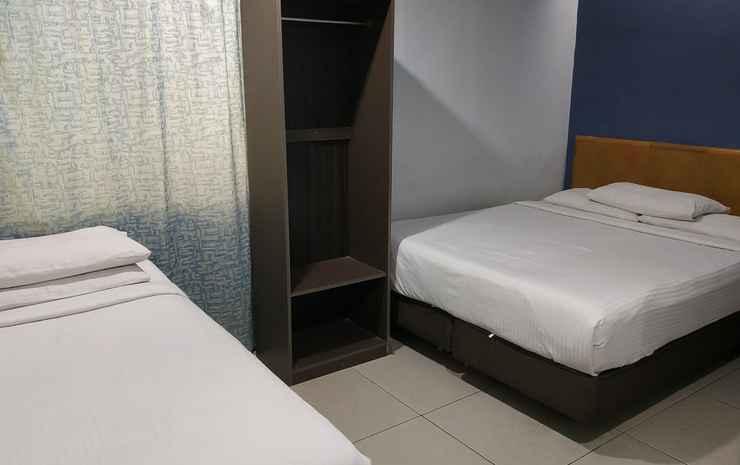 Hotel Al Jafs Bukit Bintang Kuala Lumpur - Deluxe Triple Room