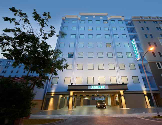 EXTERIOR_BUILDING Hotel 81 Gold