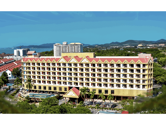 EXTERIOR_BUILDING Hotel Grand Continental Langkawi