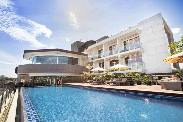 SWIMMING_POOL Grandia Hotel Bandung