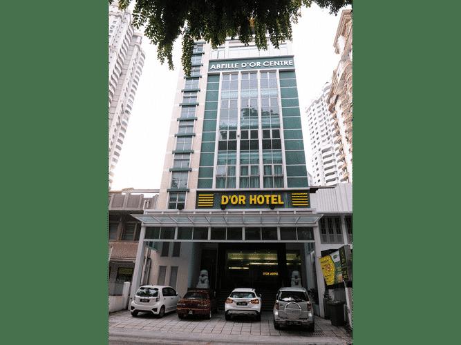 EXTERIOR_BUILDING D'OR Hotel Bukit Bintang