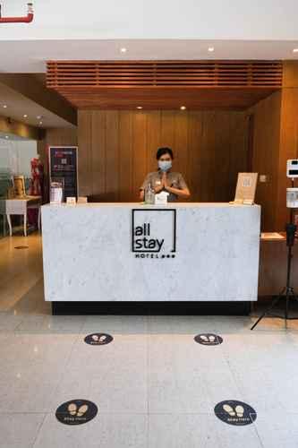 LOBBY Allstay Hotel Semarang Simpang Lima
