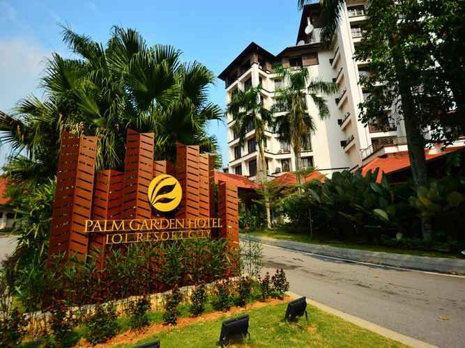EXTERIOR_BUILDING Palm Garden Hotel