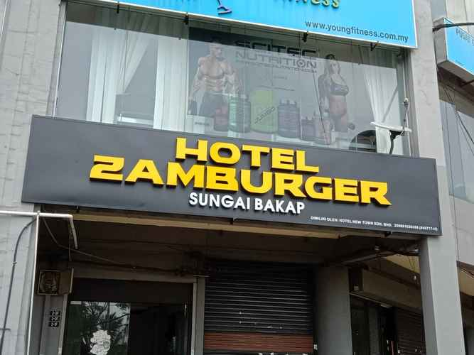 EXTERIOR_BUILDING Hotel Zamburger Sungai Bakap