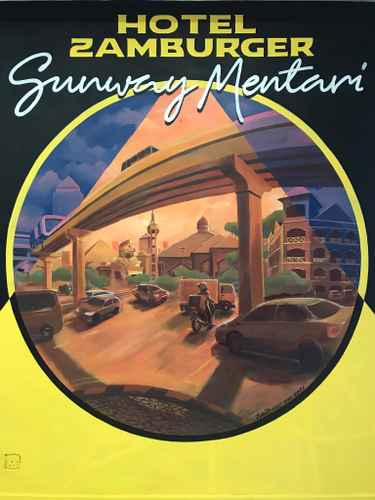 EXTERIOR_BUILDING Hotel Zamburger Sunway Mentari