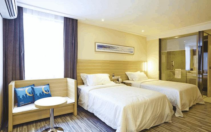 City Comfort Hotel Bukit Bintang Kuala Lumpur - Deluxe Twin (Room Only)