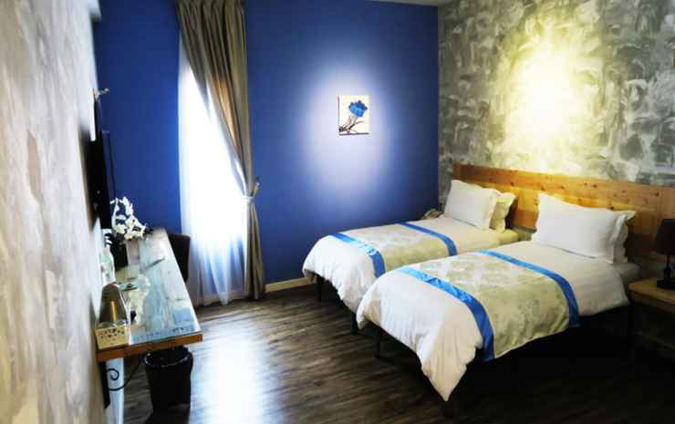 Chulia Mansion Hotel Penang - Deluxe Twin Room