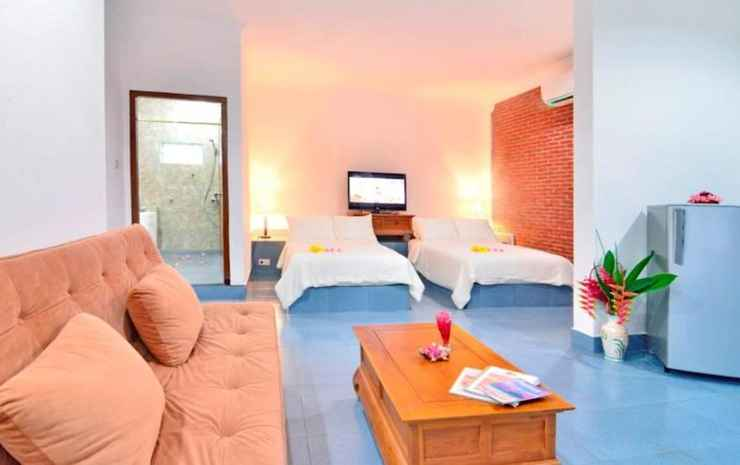 Pacific Beach Cottages Lombok - Executive Double or Twin Bed with Beach View