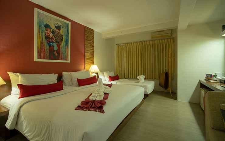 Villa Cha-Cha Banglumphu Bangkok - Deluxe Triple Room