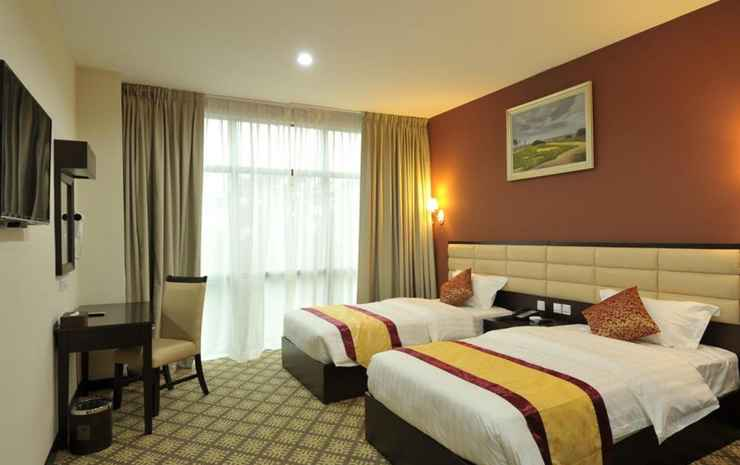 Hallmark Regency Hotel Johor Bahru Johor - Deluxe Twin Room Without Breakfast