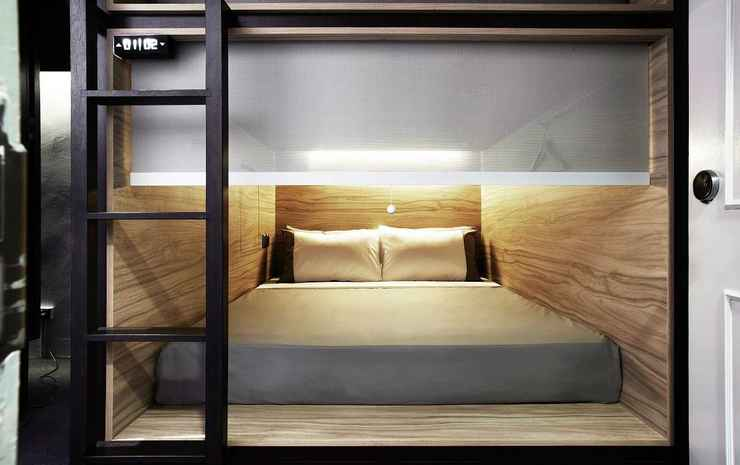 The Pod @ Beach Road Boutique Capsule Hotel Singapore - Queen POD (Mixed Room)