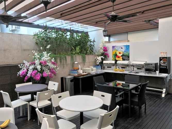 EXTERIOR_BUILDING Garden Terrace Hotel