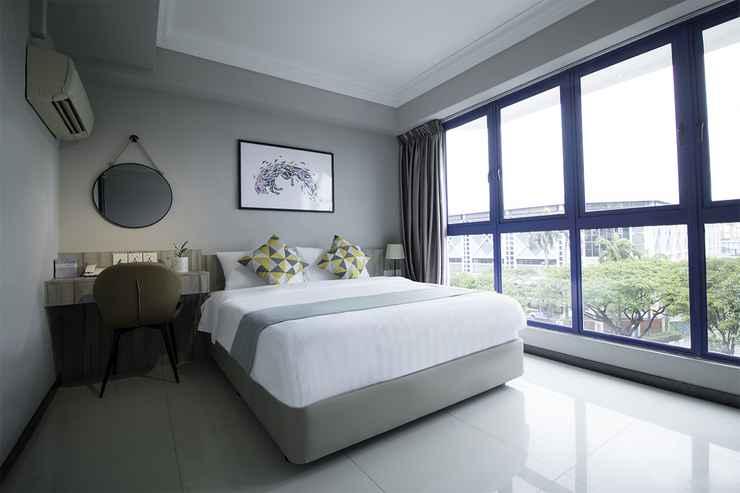 BEDROOM Harbour Ville Hotel